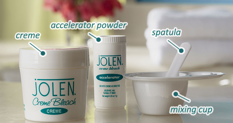 Jolen Creme Bleach, Directions for Use
